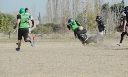Libertadores gana la llave 1 de la liga mendocina de football americano
