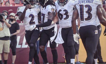 Los Ravens vencen a Washington en el cierre de la pretemporada, y consiguen su 20va victoria consecutiva en pretemporada. Fotografia: Ravens, Twitter.